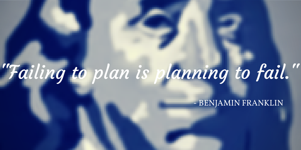 Failure to plan ben frank